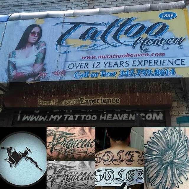 Tattoo Heaven - store  | Photo 3 of 9 | Address: 1889 Webster Ave, Bronx, NY 10457, USA | Phone: (347) 759-8614