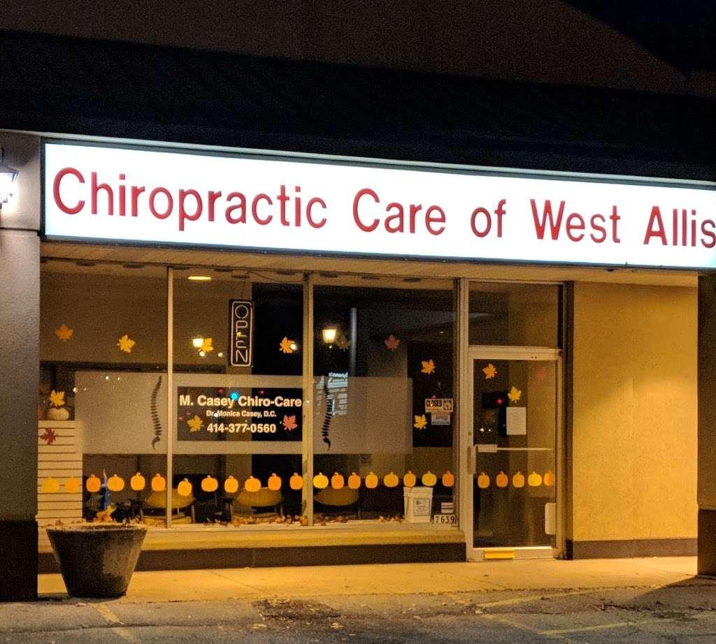 Dr. Monica Casey, Chiro Care, LLC - health  | Photo 1 of 1 | Address: 7639 W Beloit Rd, Milwaukee, WI 53219, USA | Phone: (414) 377-0560