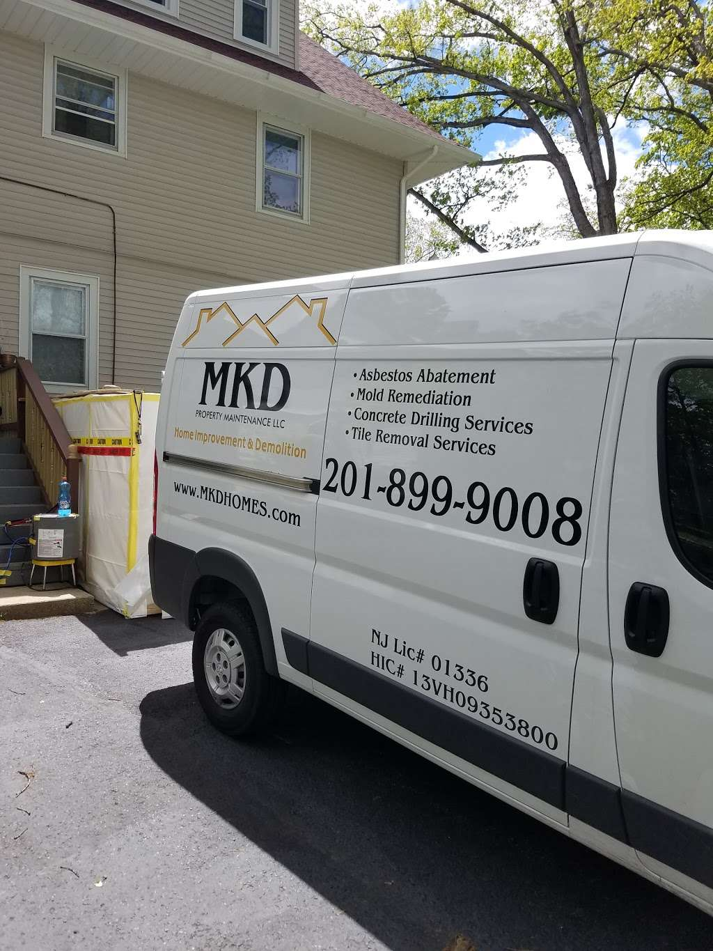 MKD Property Maintenance LLC- Asbestos Contractor - painter  | Photo 5 of 10 | Address: 105 Van Riper Ave, Clifton, NJ 07011, USA | Phone: (201) 899-9008