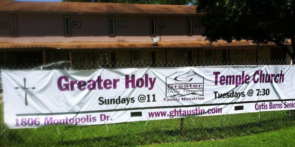 Greater Holy Temple Church Austin Tx. - church  | Photo 3 of 4 | Address: 1806 Montopolis Dr, Austin, TX 78741, USA | Phone: (512) 961-2647