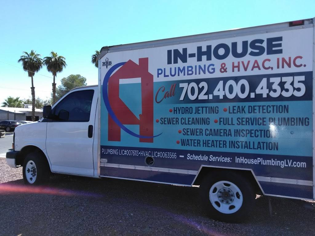 In House Plumbing & HVAC Inc - plumber  | Photo 1 of 10 | Address: 4553 E Vegas Valley Dr, Las Vegas, NV 89121, USA | Phone: (702) 400-4335
