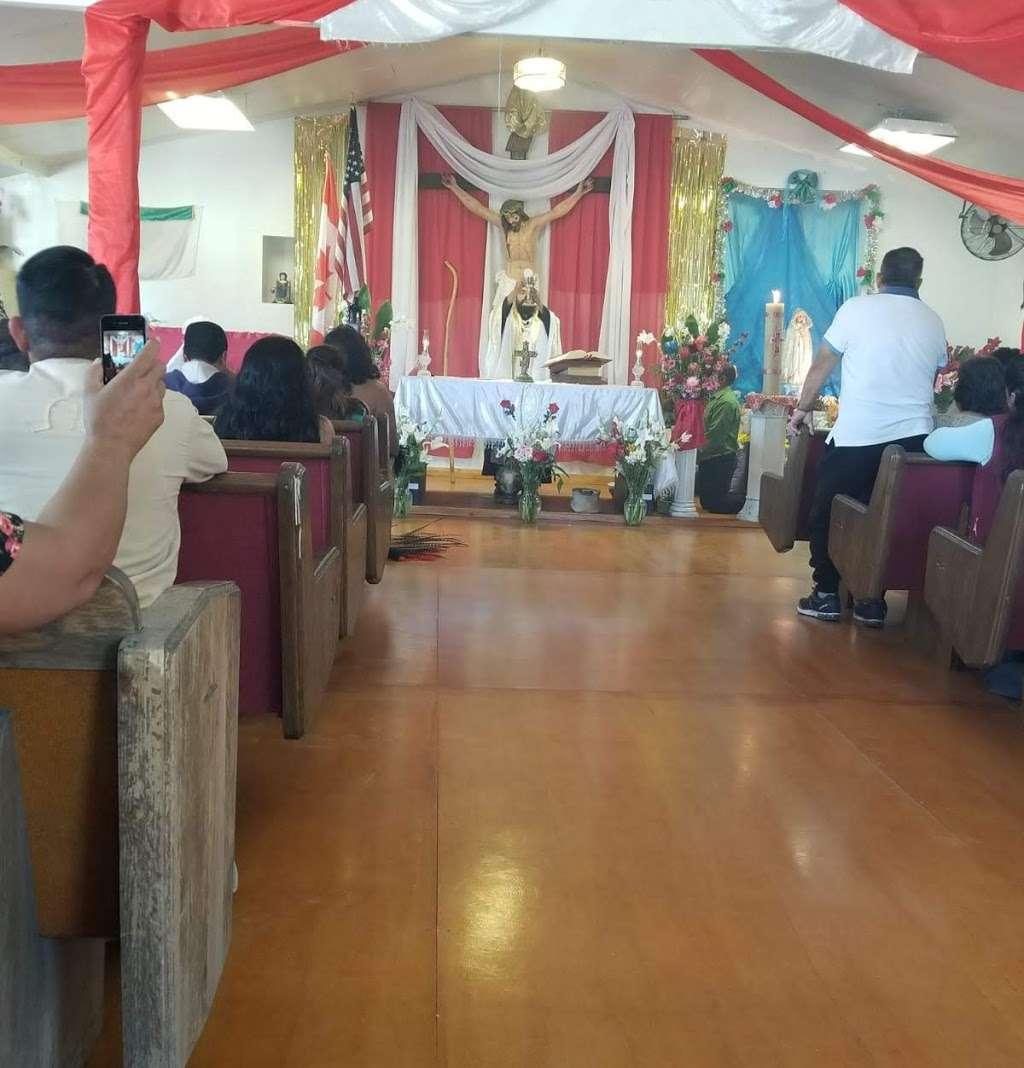 San Juan de los Angeles Catholic Mission - church  | Photo 1 of 1 | Address: 14720 E Palmdale Blvd, Lake Los Angeles, CA 93591, USA | Phone: (626) 638-5056