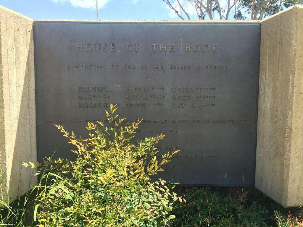 House of the Book - university  | Photo 8 of 10 | Address: Peppertree Ln, Brandeis, CA 93064, USA | Phone: (805) 582-4450