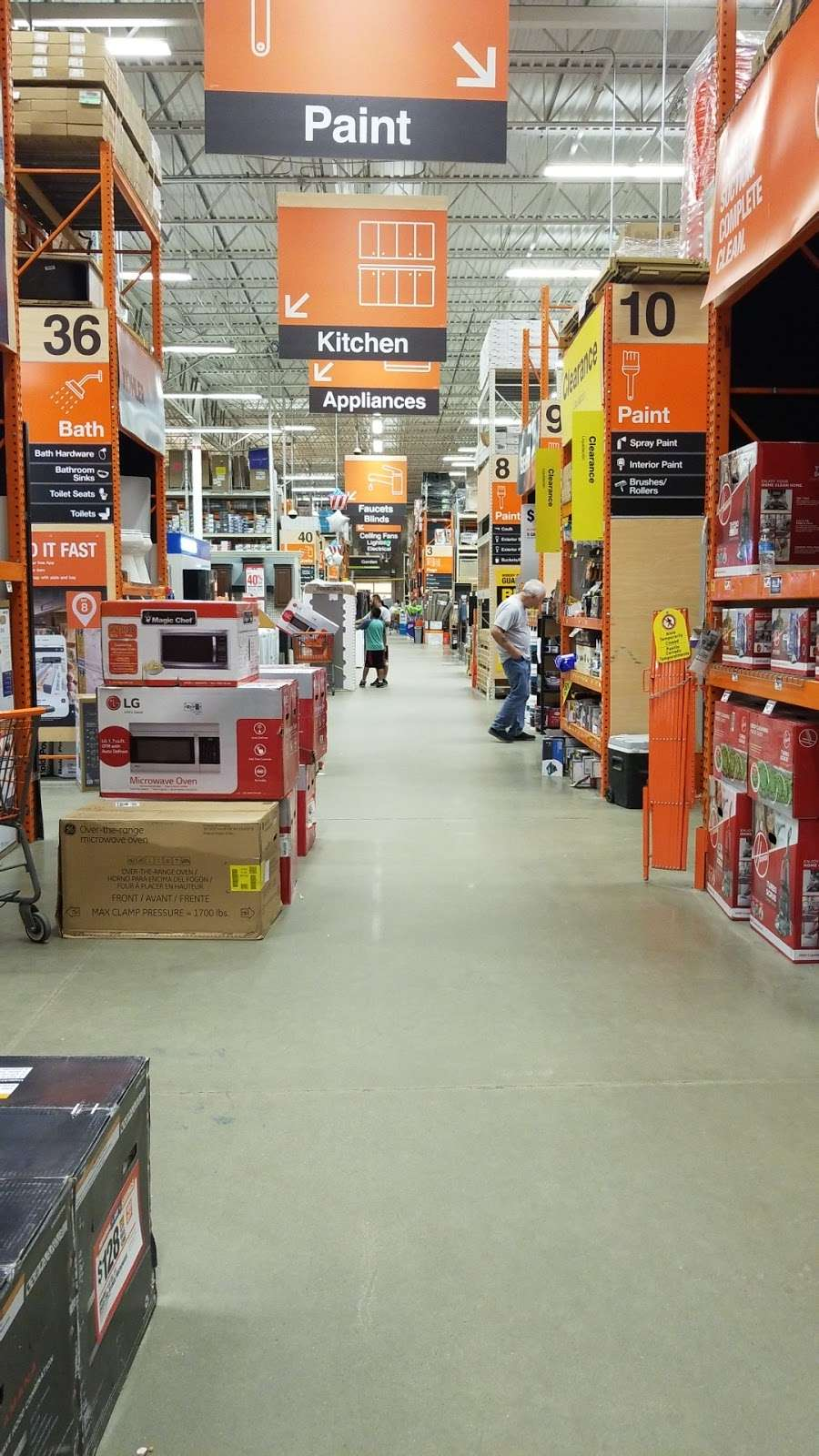 Appliances Showroom At The Home Depot 1515 Us 22 Watchung Nj 07069 Usa