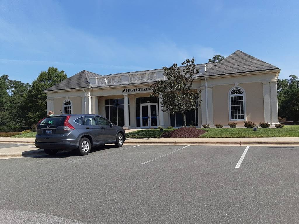 First Citizens Bank - bank    Photo 2 of 2   Address: 1000 High House Rd, Cary, NC 27513, USA   Phone: (919) 380-5800