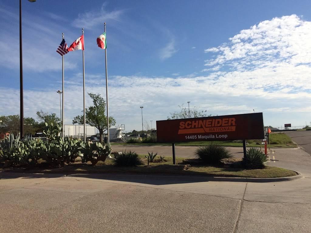 Schneider National Inc - moving company    Photo 2 of 10   Address: 14405 Maquila Loop, Laredo, TX 78045, USA   Phone: (956) 722-3022