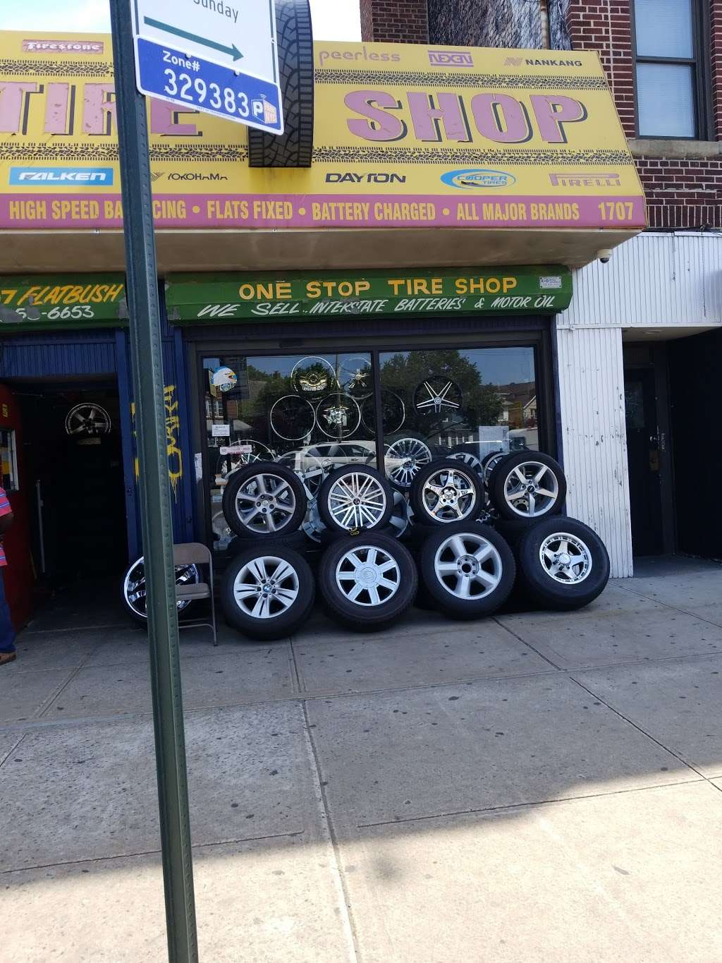 One Stop Tire Shop - car repair  | Photo 3 of 10 | Address: 1707 Flatbush Ave, Brooklyn, NY 11210, USA | Phone: (718) 253-6653