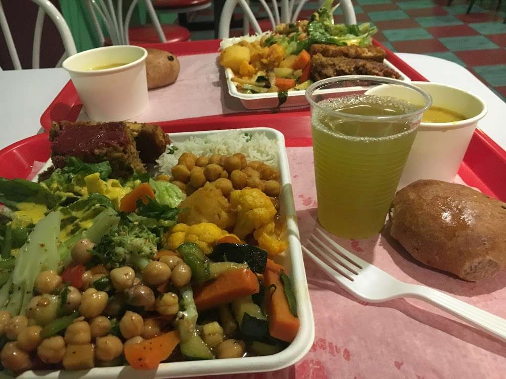 Govindas Vegetarian Lunch - restaurant  | Photo 6 of 10 | Address: 305 Schermerhorn St, Brooklyn, NY 11217, USA | Phone: (347) 249-4064