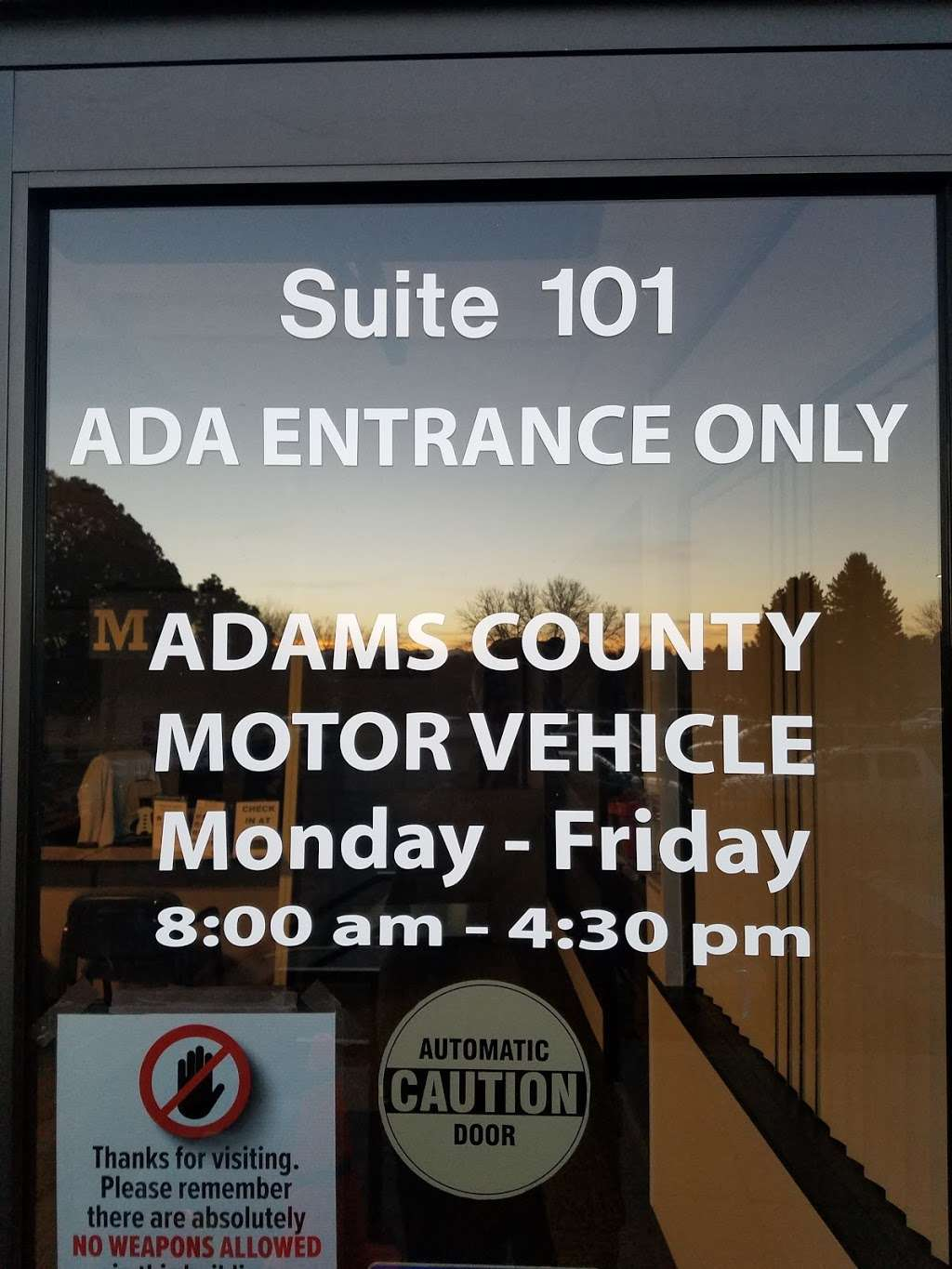 North Pecos Motor Vehicle - local government office  | Photo 4 of 4 | Address: 12200 N Pecos St, Denver, CO 80234, USA | Phone: (720) 523-6010