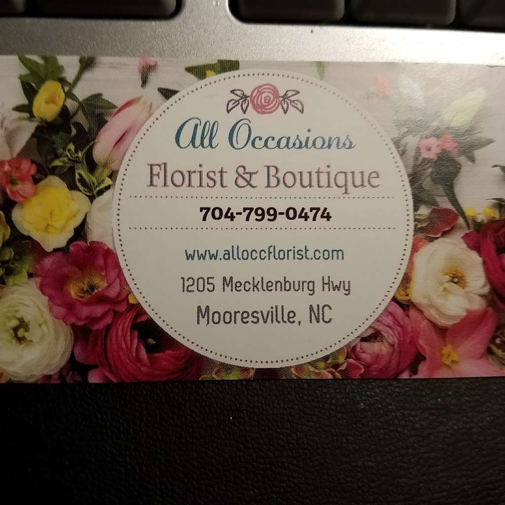 All Occasions Florist & Boutique - florist  | Photo 4 of 6 | Address: 1205 Mecklenburg Hwy, Mooresville, NC 28115, USA | Phone: (704) 799-0474