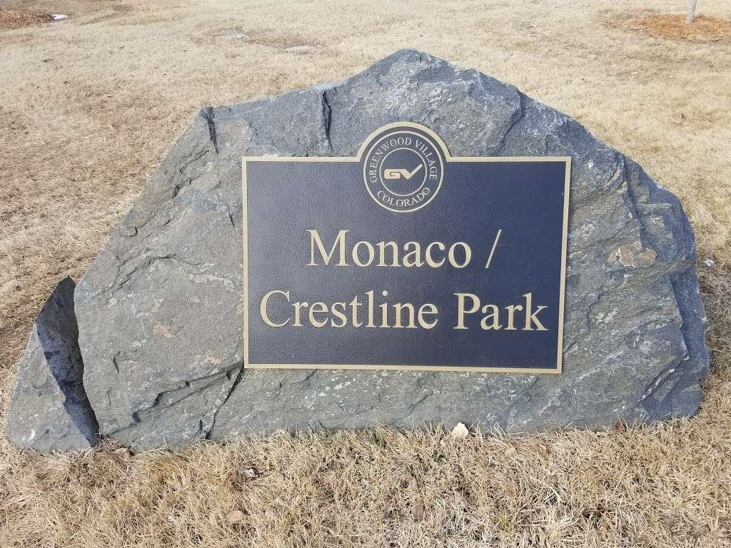 Monaco - Crestline Park - park  | Photo 4 of 8 | Address: 6363 E Crestline Ave, Greenwood Village, CO 80111, USA | Phone: (303) 773-0252