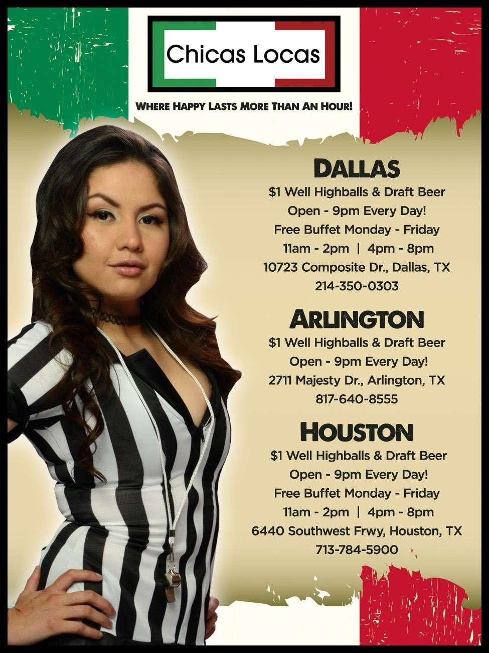Chicas Locas of Cabaret Royale - night club  | Photo 5 of 6 | Address: 10723 Composite Dr, Dallas, TX 75220, USA | Phone: (214) 350-0303