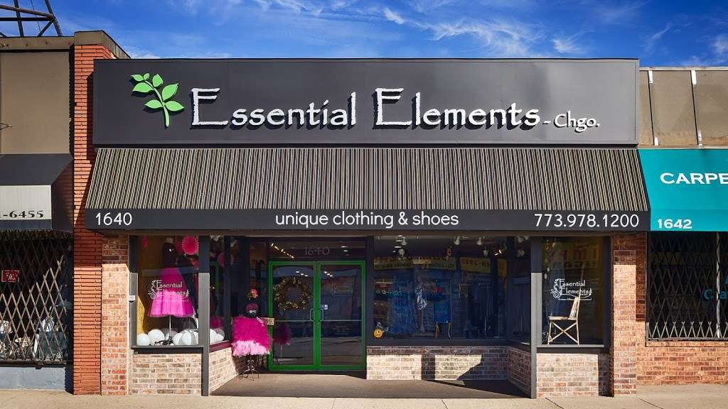 Essential Elements-Chicago, Ltd. - clothing store  | Photo 4 of 10 | Address: 1640 E 87th St, Chicago, IL 60617, USA | Phone: (773) 978-1200