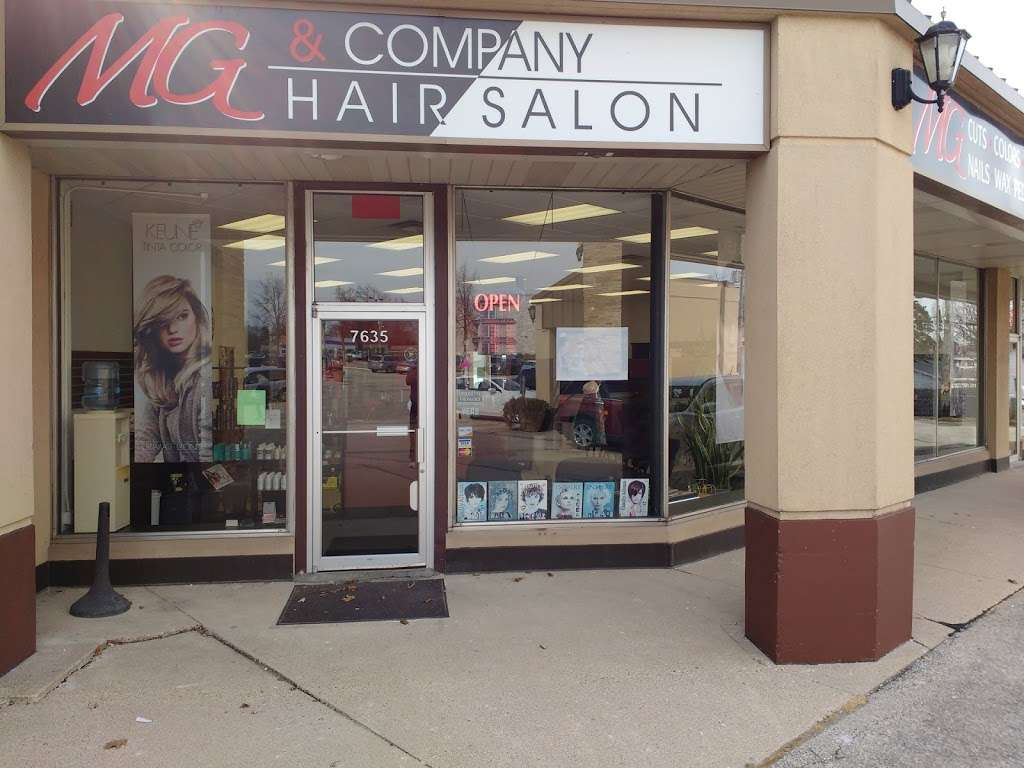 Mg & Company Hair Salon - hair care  | Photo 10 of 10 | Address: 7635 W Beloit Rd, West Allis, WI 53219, USA | Phone: (414) 541-6990