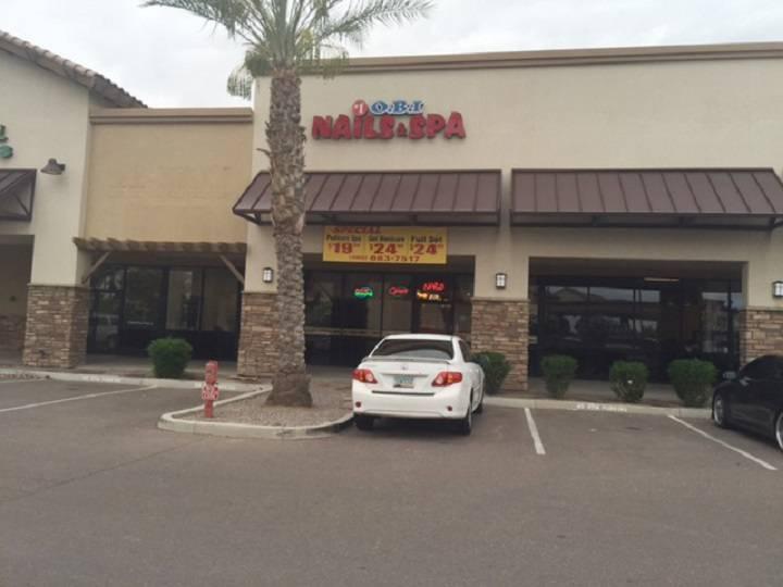 1 Obi Nail Spa - spa    Photo 2 of 9   Address: 3020 S Gilbert Rd #7, Chandler, AZ 85286, USA   Phone: (480) 883-7517
