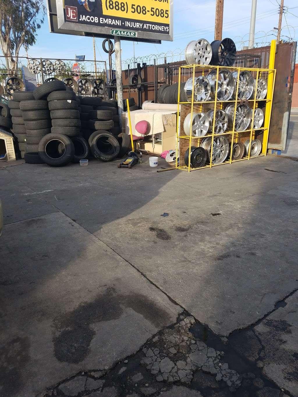 Leon Tires & Wheels - car repair  | Photo 7 of 10 | Address: 8431 S Main St, Los Angeles, CA 90003, USA | Phone: (323) 456-5405