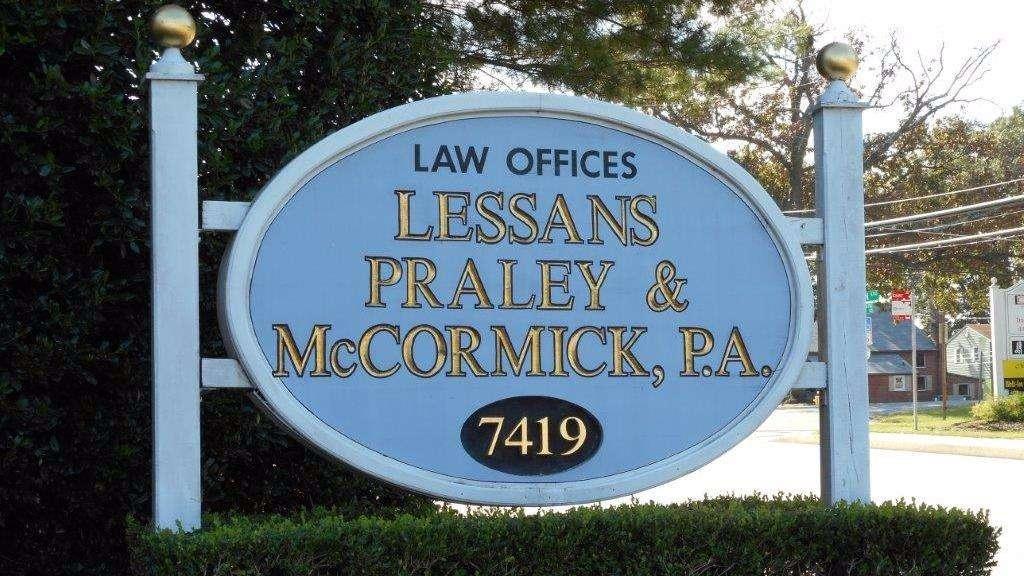 Lessans Praley & McCormick, P.A. - real estate agency    Photo 1 of 3   Address: 7419 Baltimore Annapolis Blvd, Glen Burnie, MD 21061, USA   Phone: (410) 760-5000