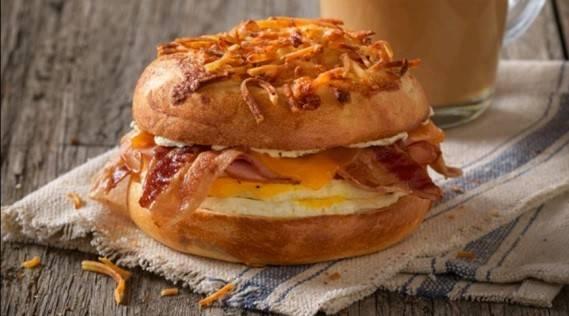 Einstein Bros. Bagels - bakery  | Photo 4 of 9 | Address: 16304 Beach Blvd, Westminster, CA 92683, USA | Phone: (714) 847-4609