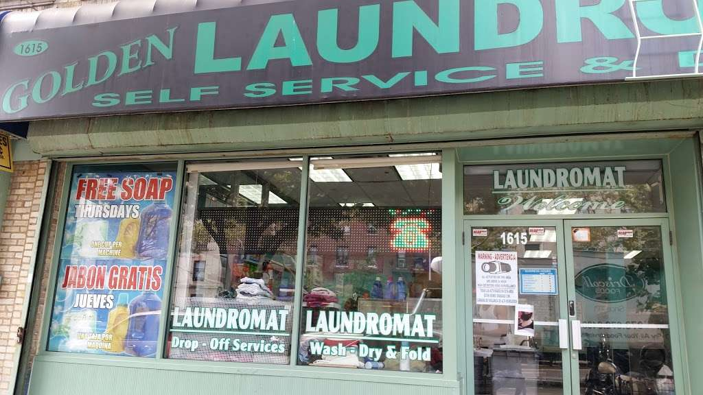 Golden Laundromat - laundry  | Photo 4 of 4 | Address: 1615 Dr Martin Luther King Jr Blvd, Bronx, NY 10453, USA | Phone: (718) 618-0234