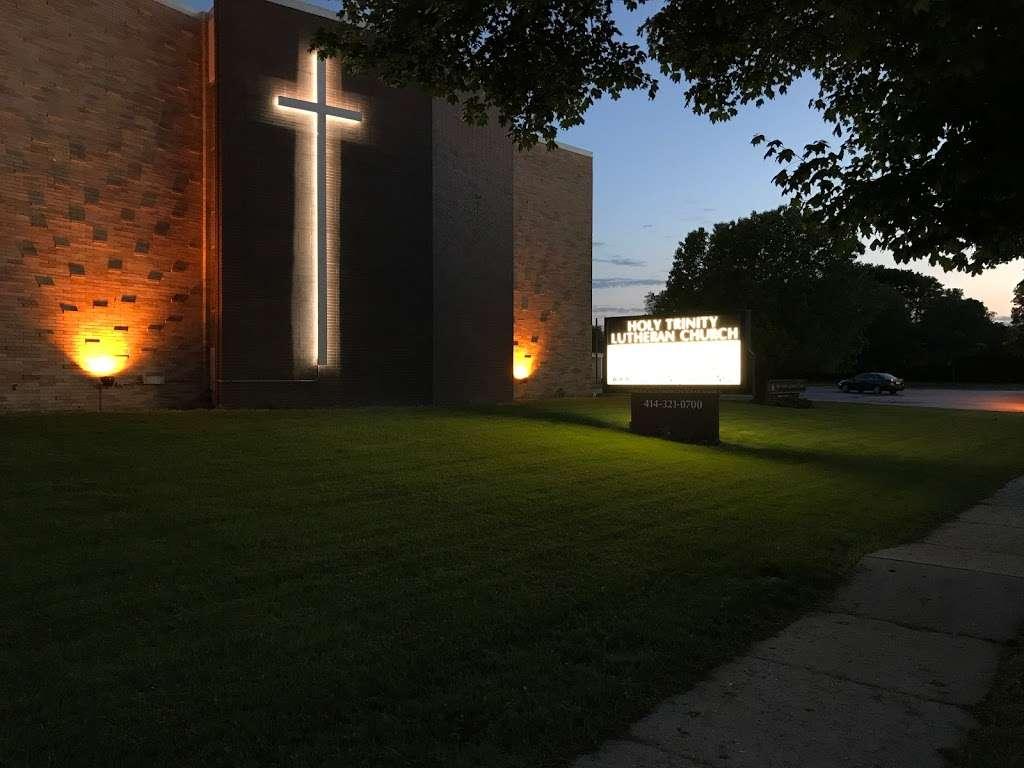 Holy Trinity Lutheran Church - church  | Photo 1 of 10 | Address: 11709 W Cleveland Ave, West Allis, WI 53227, USA | Phone: (414) 321-0700