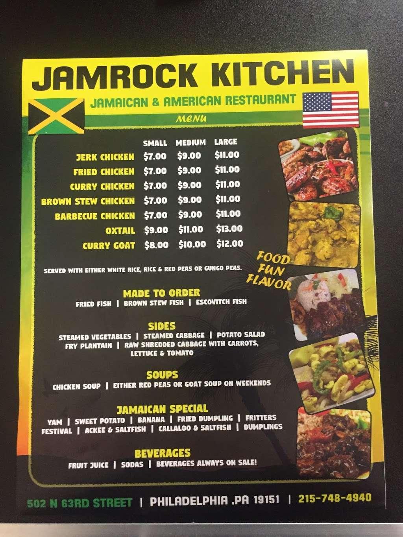 Jamrock Kitchen - restaurant  | Photo 1 of 1 | Address: 502 N 63rd St, Philadelphia, PA 19151, USA | Phone: (215) 748-4940