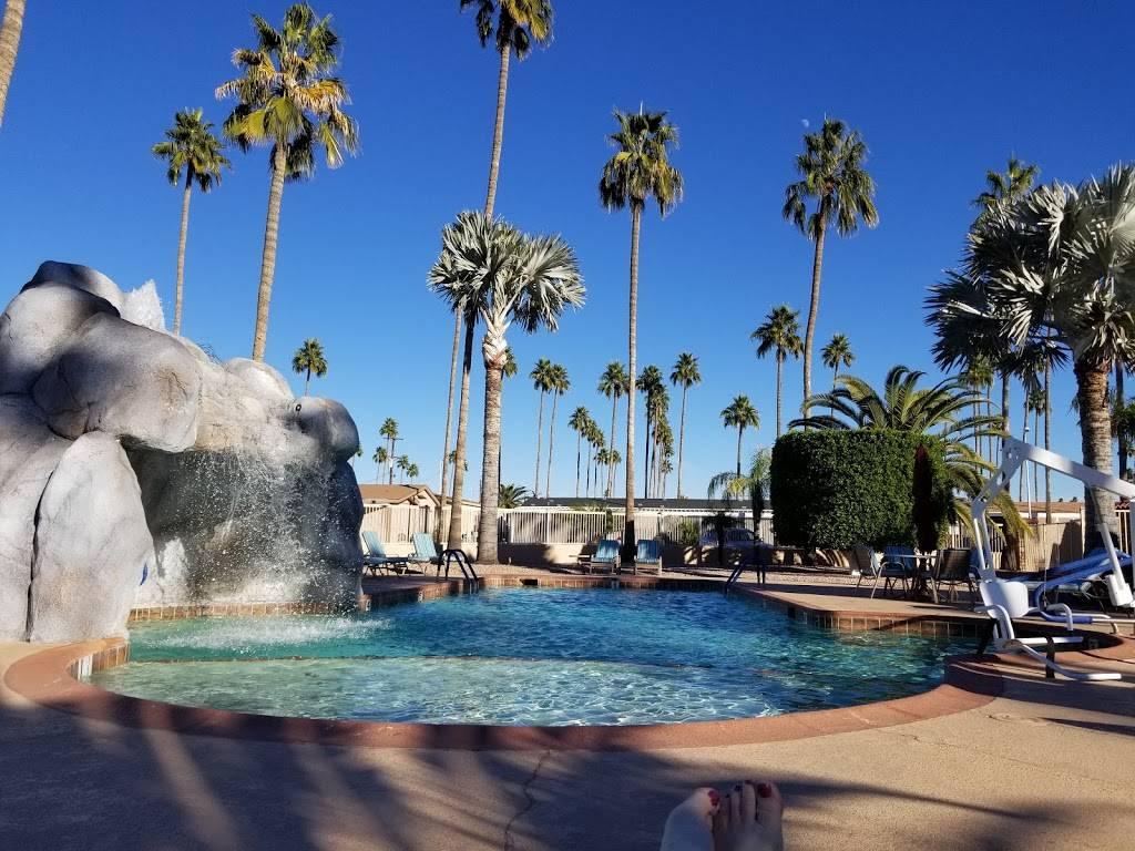 Palm Gardens 55+ Manufactured Housing Community & Mobile Home Pa - campground  | Photo 1 of 5 | Address: 2929 E Main St, Mesa, AZ 85213, USA | Phone: (480) 832-0290