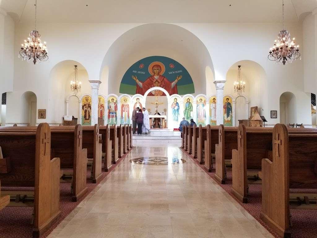 Saint Catherine Greek Orthodox Church - church  | Photo 2 of 9 | Address: 5555 S Yosemite St, Greenwood Village, CO 80111, USA | Phone: (303) 773-3411