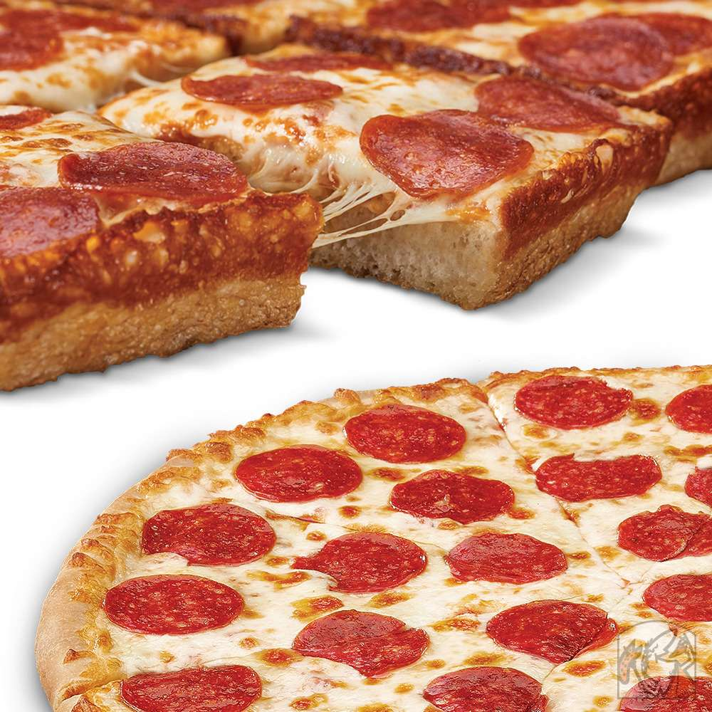 Little Caesars Pizza - meal takeaway  | Photo 1 of 10 | Address: 4477 E 10th St, Indianapolis, IN 46201, USA | Phone: (317) 644-3964