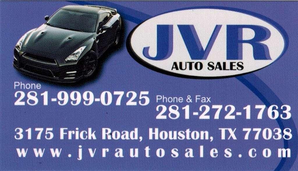 Jvr Auto Sales >> Jvr Auto Sales Car Dealer 3175 Frick Rd Houston Tx