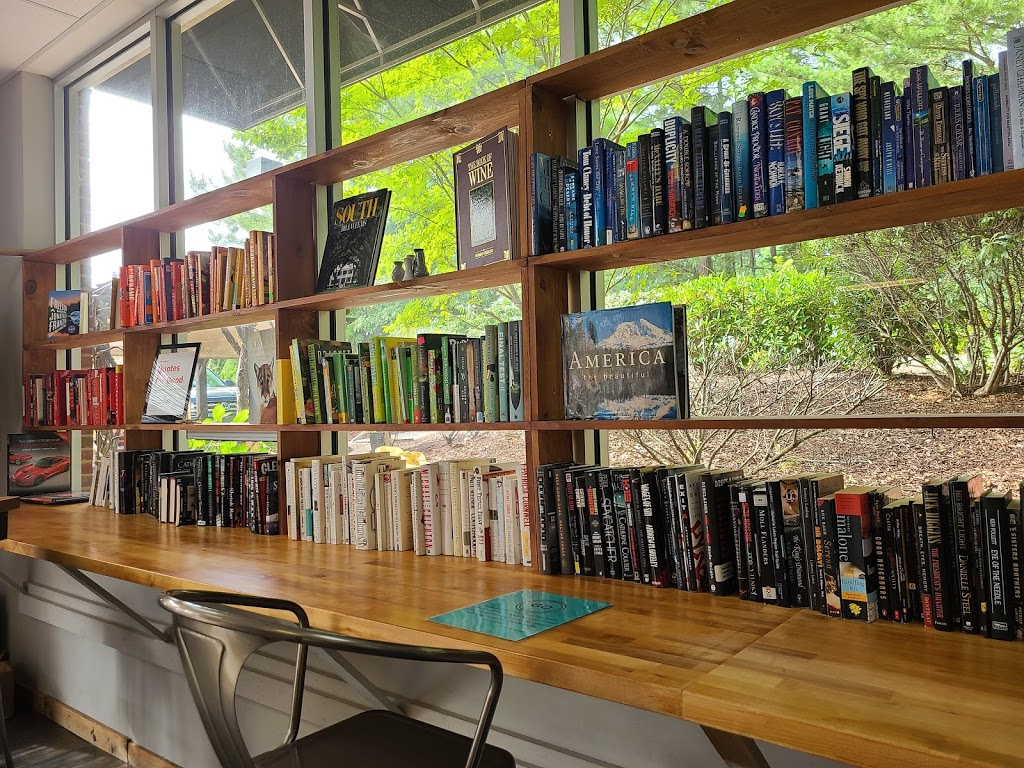 NoRa Cafe - book store  | Photo 8 of 9 | Address: 12333 Strickland Rd, Raleigh, NC 27613, USA | Phone: (919) 322-2202