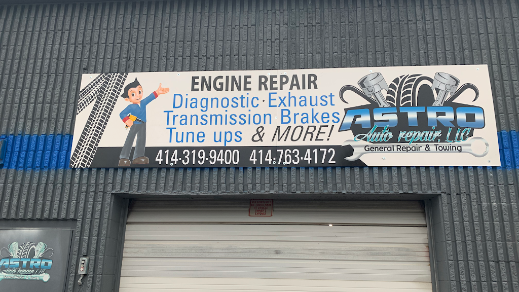 Astro Auto Repair - car repair    Photo 1 of 5   Address: 4722 South 13th Street, Milwaukee, WI 53221, USA   Phone: (414) 319-9400