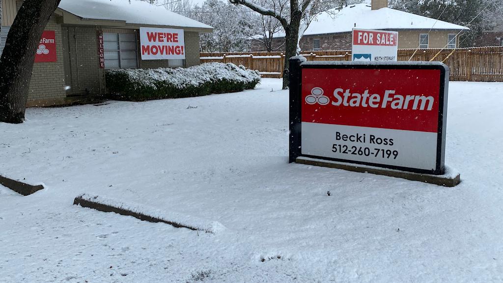 Becki Ross: State Farm Insurance Agent - insurance agency    Photo 1 of 9   Address: 1908 Yaupon Trail Ste B202, Cedar Park, TX 78613, USA   Phone: (512) 260-7199