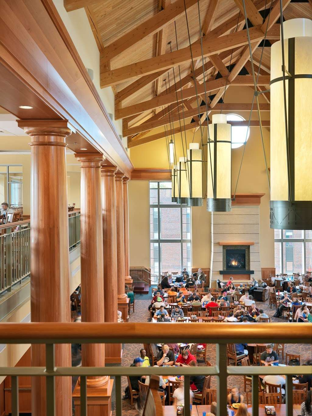 The Wood Dining Commons (Muhlenberg College Dining) - restaurant  | Photo 9 of 10 | Address: 2400 W Chew St, Allentown, PA 18104, USA | Phone: (484) 664-3488