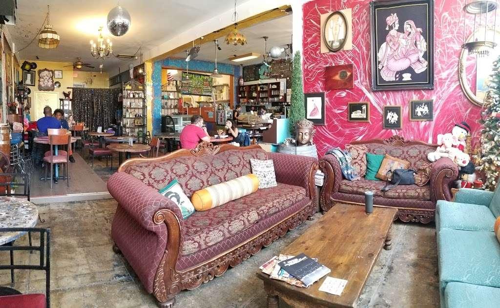 Blu Elefant Cafe - cafe    Photo 1 of 10   Address: 2024 W Washington Blvd, Los Angeles, CA 90018, USA   Phone: (323) 641-0466