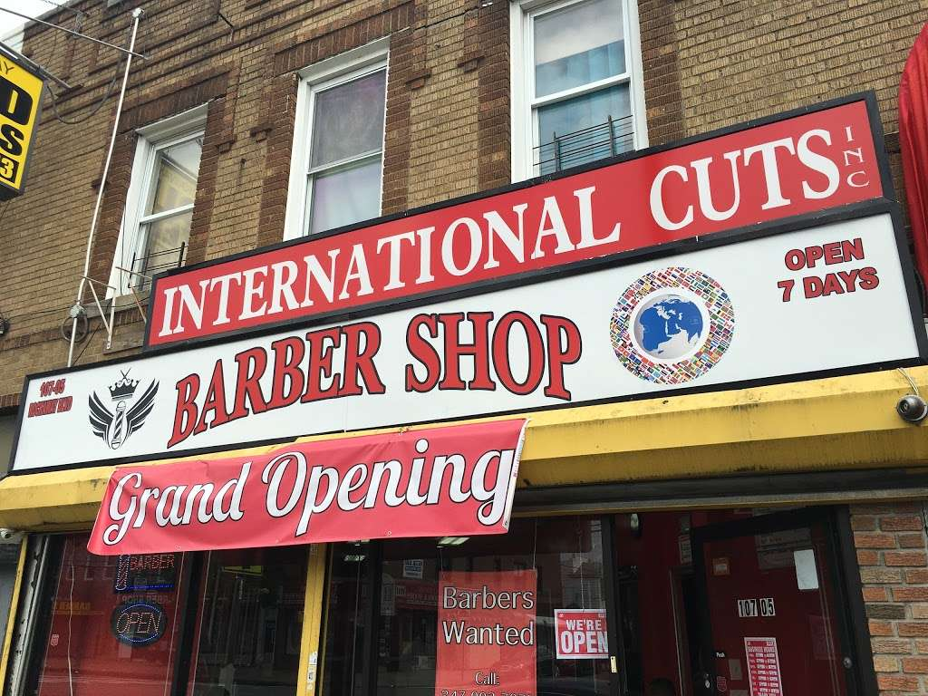 International Cuts Barbershop - hair care  | Photo 2 of 4 | Address: 107-05 Rockaway Blvd, Ozone Park, NY 11417, USA | Phone: (347) 494-5784