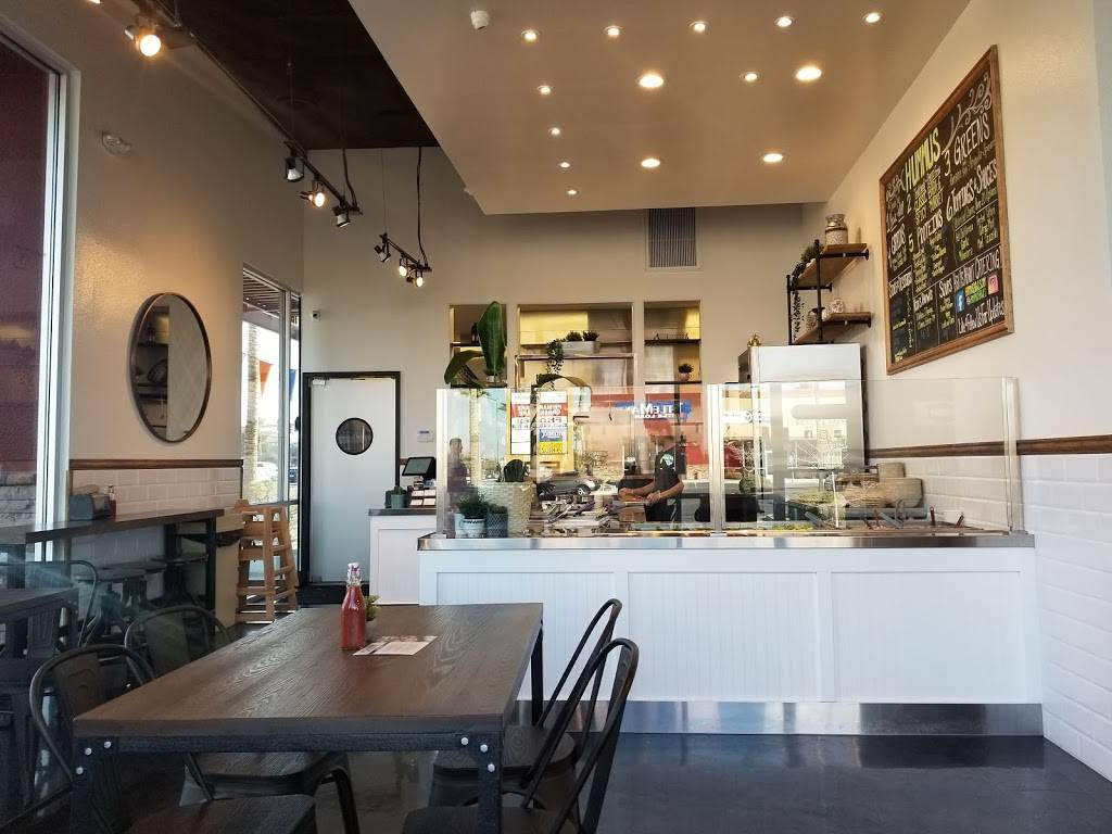 HUMMUS Bowls & Wraps - restaurant    Photo 1 of 9   Address: 7645 S Rainbow Blvd #100, Las Vegas, NV 89139, USA   Phone: (702) 333-1850
