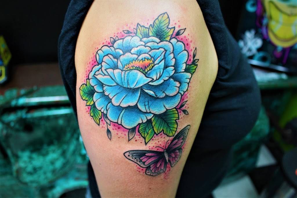 The Chosen One Ink Tattoo - art gallery  | Photo 5 of 9 | Address: 2501 E Mayfield Rd #119, Arlington, TX 76014, USA | Phone: (817) 277-5199