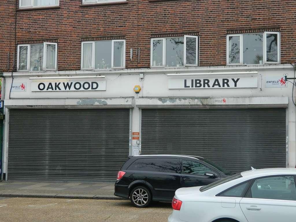 Oakwood Library - library  | Photo 1 of 2 | Address: 185-187 Bramley Rd, London N14 4XA, UK | Phone: 020 8379 1711