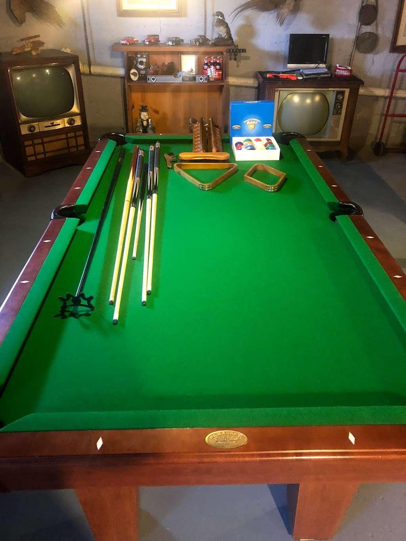 Cloud 9 Pool Table Service - store  | Photo 4 of 10 | Address: 236 John Mowry Rd, Smithfield, RI 02917, USA | Phone: (401) 603-8092