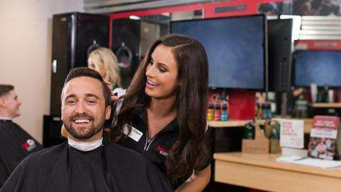 Sport Clips Haircuts of German Church Shops - hair care  | Photo 1 of 10 | Address: 10935 E Washington St, Indianapolis, IN 46229, USA | Phone: (317) 897-9674