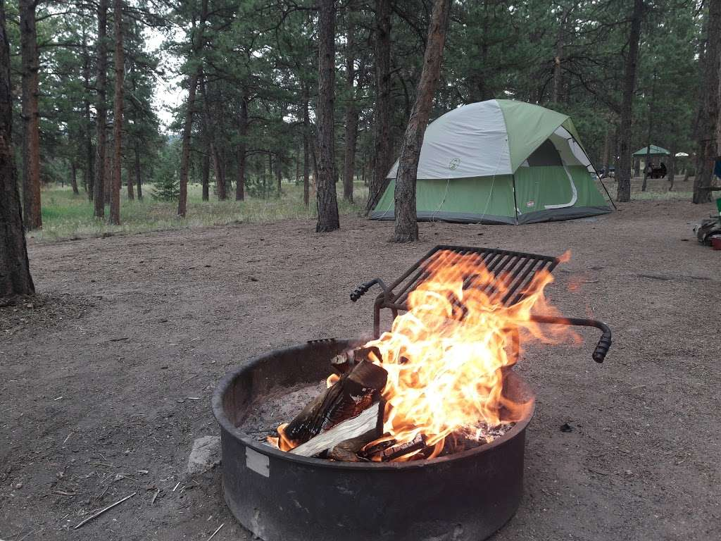 South Meadows Campground - campground  | Photo 3 of 10 | Address: Woodland Park, CO 80863, USA | Phone: (719) 636-1602