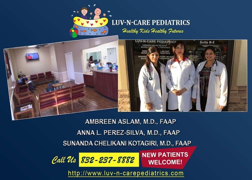 Luv N Care Pediatrics: AMBREEN ASLAM, M.D., ANNA PEREZ-SILVA, M. - doctor  | Photo 5 of 10 | Address: 11811 Fallbrook Dr b, Houston, TX 77065, USA | Phone: (832) 237-8882