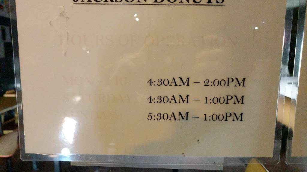 Jacksons Donuts - store    Photo 3 of 3   Address: 140 S Jackson Ave, San Jose, CA 95116, USA   Phone: (408) 259-5256