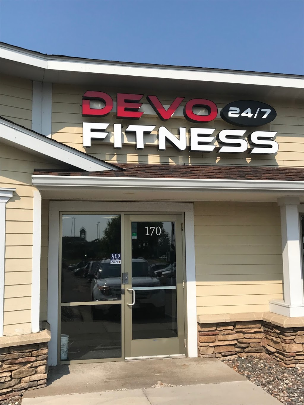 Devo Fitness - gym    Photo 2 of 8   Address: 455 99th Ave NW #170, Coon Rapids, MN 55433, USA   Phone: (763) 762-6914