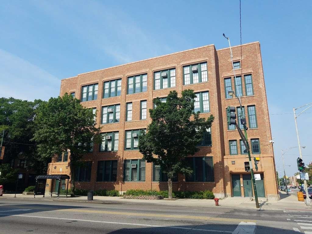William H. Wells Community Academy High School - school  | Photo 2 of 10 | Address: 936 N Ashland Ave, Chicago, IL 60622, USA | Phone: (773) 534-7010