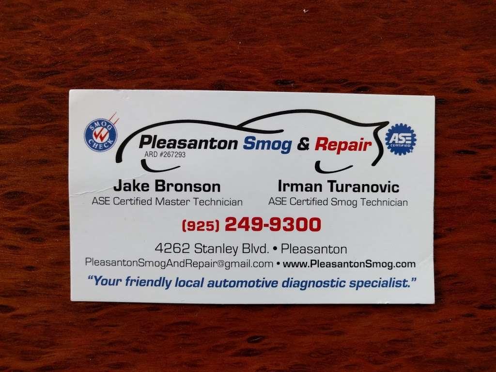 Pleasanton Smog and Repair - car repair  | Photo 8 of 9 | Address: 4262 Stanley Blvd, Pleasanton, CA 94566, USA | Phone: (925) 249-9300