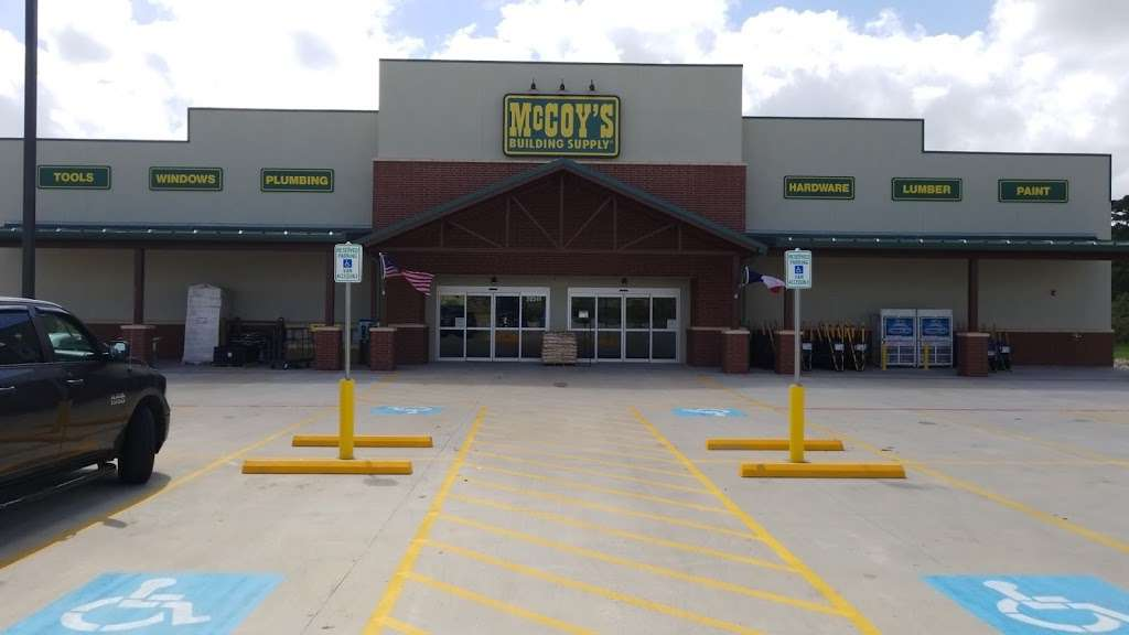 McCoys Building Supply - hardware store    Photo 5 of 10   Address: 20341 Eva St, Montgomery, TX 77356, USA   Phone: (936) 597-3987