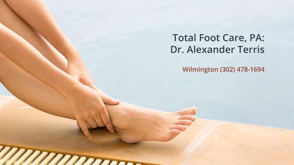 Total Foot Care, PA: Alexander Terris, DPM - doctor    Photo 8 of 10   Address: 2700 Silverside Rd #3B, Wilmington, DE 19810, USA   Phone: (302) 478-1694