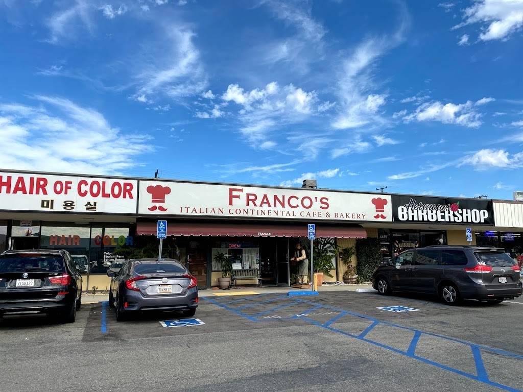 Francos Italian Restaurant - bakery  | Photo 1 of 10 | Address: 4453 W Cerritos Ave, Cypress, CA 90630, USA | Phone: (714) 761-9040