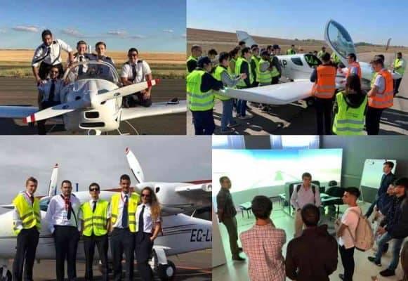 FlyBy Aviation Academy - school  | Photo 3 of 6 | Address: Aeropuerto de Burgos, Carr. de Logroño, 107, 09007 Burgos, Spain | Phone: +34 987 97 99 20